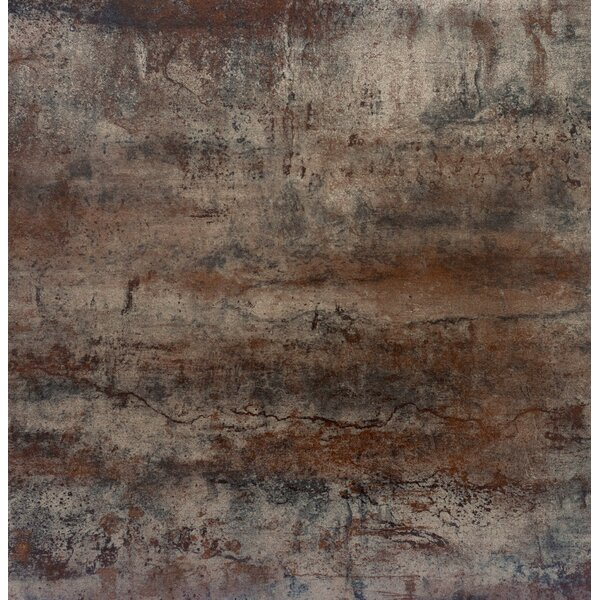 Alchemy 24 x 24 Porcelain Field Tile in Copper by