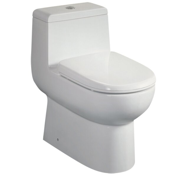 Platinum Camilla Dual Flush Elongated One-Piece Toilet by Ariel Bath
