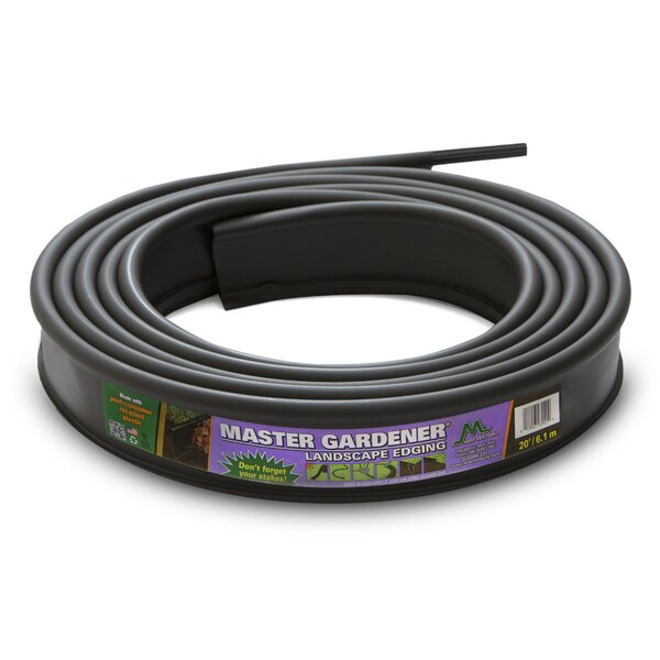 3.5 in. H x 20 ft. W Yard and Garden Edging by Master Mark Plastics