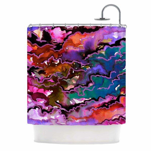 Ebi Emporium Radiant Skies Shower Curtain by East Urban Home