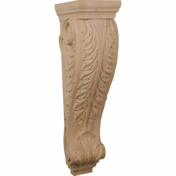 Acanthus 34H x 9W x 10D Pilaster Corbel by Ekena Millwork