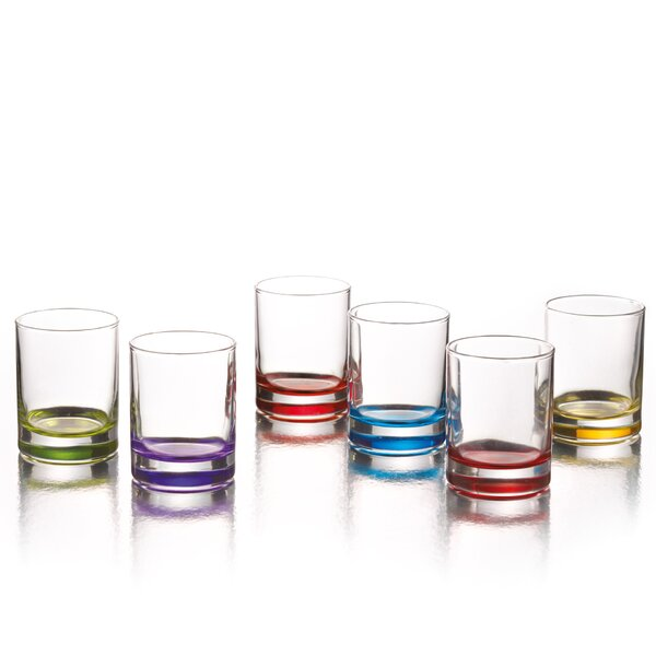 Piccolo 2.25 oz. Shot Glass (Set of 6) by Style Setter