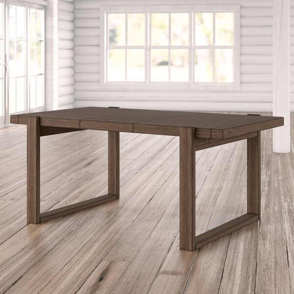 Fiorella Rectangular Extendable Dining Table by Union Rustic