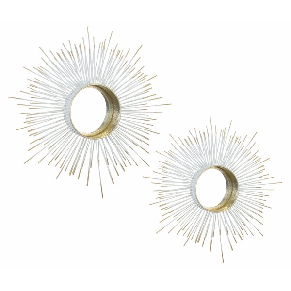 2 Piece Wall Mirror Set by Everly Quinn