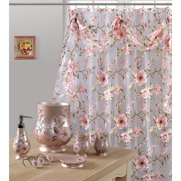 Melrose Sheer Shower Curtain by Daniels Bath