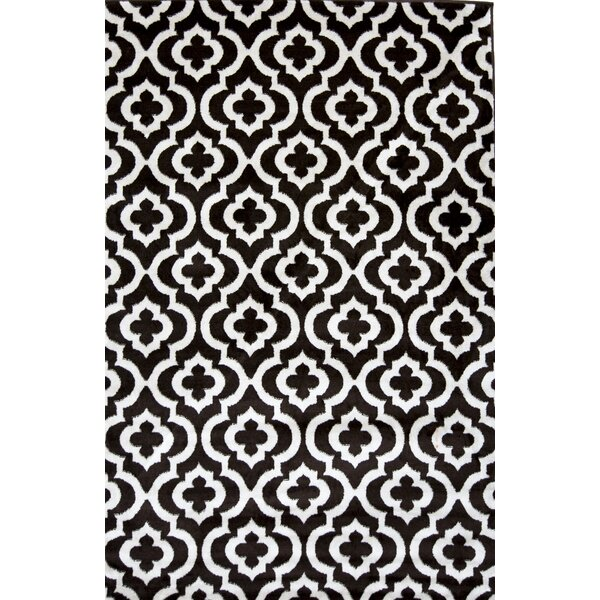 Mirror Rehash Brown Area Rug by Samnm Trade