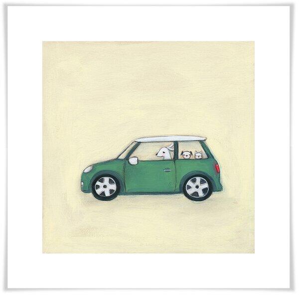 Bennie Modern Mini Paper Print by Harriet Bee