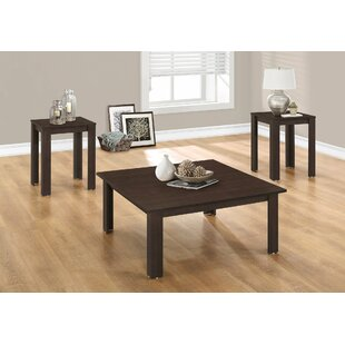 3 Piece Coffee Table Set Monarch Specialties Inc.