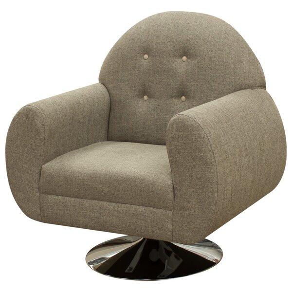 Macao Swivel Armchair by REZ Furniture