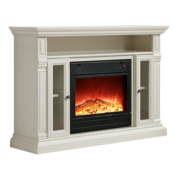 Luz 48 TV Stand with Electric Fireplace by Charlton Home