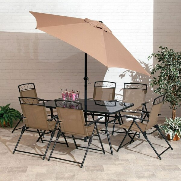 Kroll 8 Piece Dining Set by Winston Porter