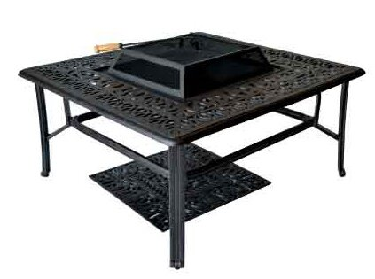 Kristy Aluminum Propane Fire Pit Table by Darby Home Co