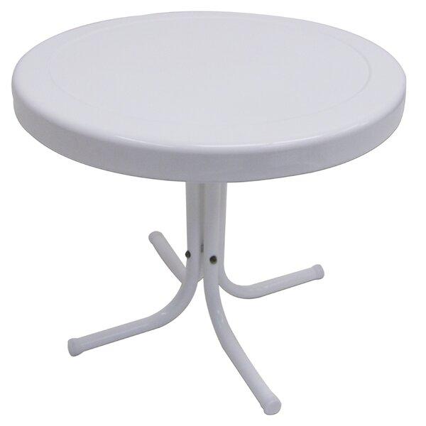 Char-Log Metal Side Table by Ebern Designs