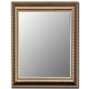 Find a Cameo Ribbed Anique Framed Wall Mirror ByHitchcock Butterfield Company