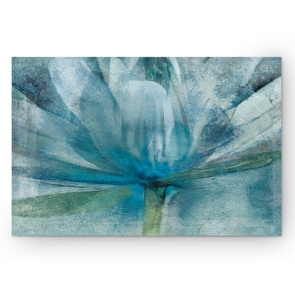 Blue Awakening by Mike Calascibetta Painting Print on Wrapped Canvas by Wexford Home