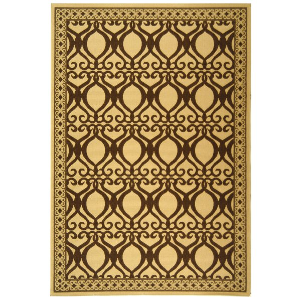 Herefordshire Natural/Brown Indoor/Outdoor Area Rug by Winston Porter
