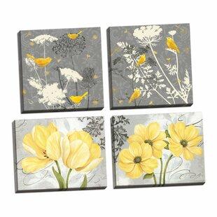 Set Of 4 Botanical Prints Wayfair