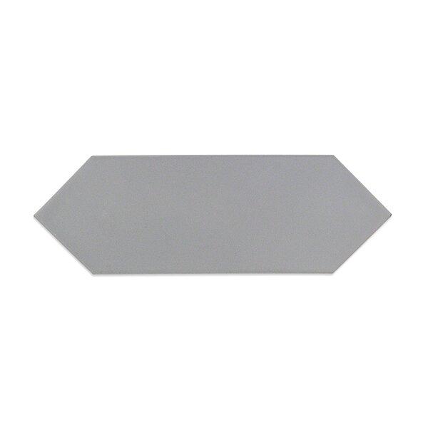 Russell 4 x 12 Porcelain Field Tile in Matte Dark Gray by Splashback Tile