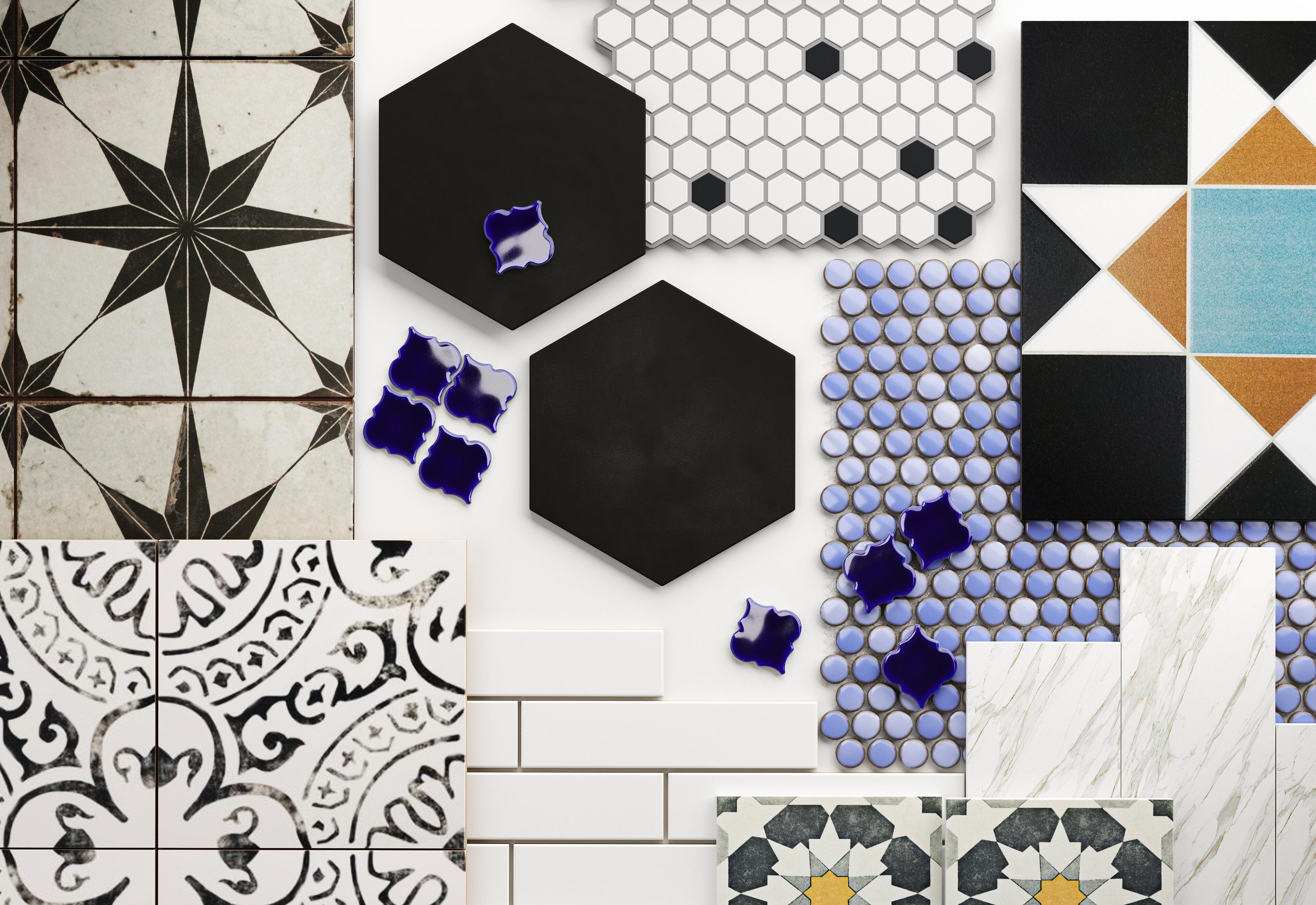 Bathroom Tile Designs How To Choose The Best Tiles For Your Bathroom Wayfair