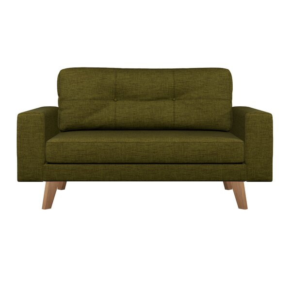 Binns Cross Weave Loveseat by Corrigan Studio