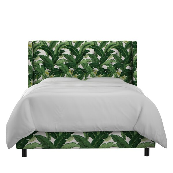 Promfret Upholstered Panel Bed by Beachcrest Home