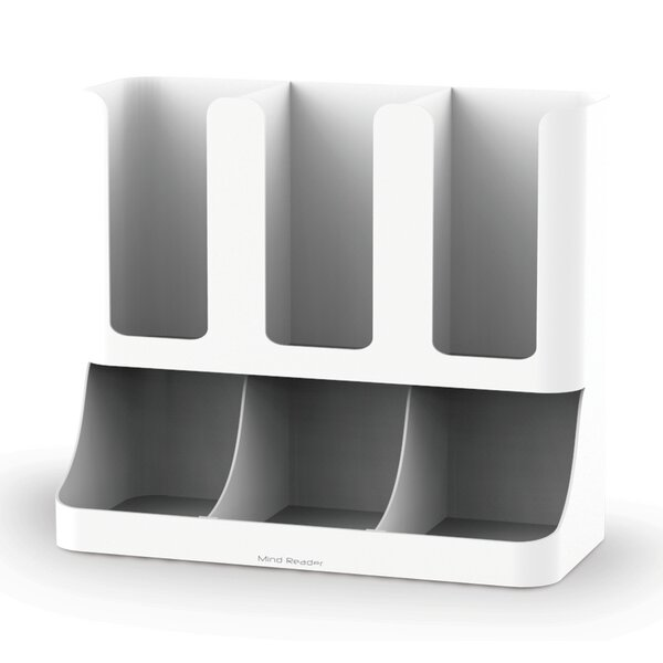 Flume Coffee Condiment and Cups Organizer by Mind Reader