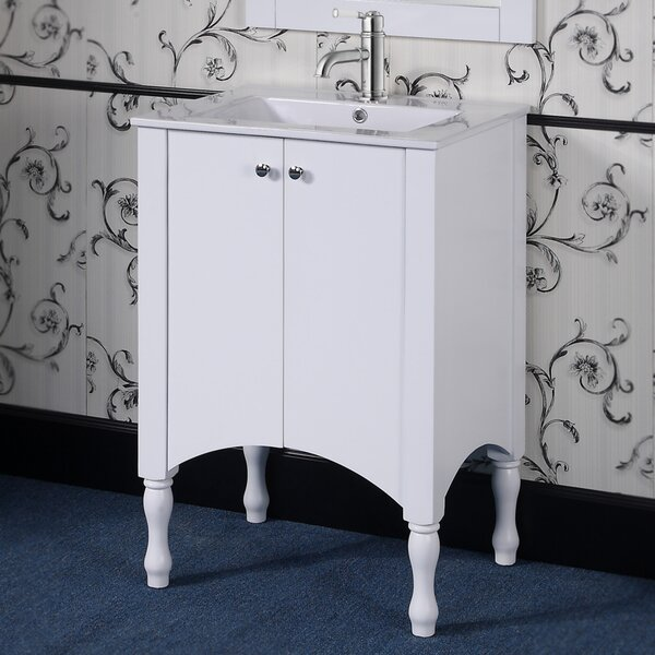 Heyward 24 Single Vanity Set by Alcott HillHeyward 24 Single Vanity Set by Alcott Hill
