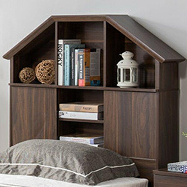 Marley Hut Bookcase Headboard by Harriet Bee