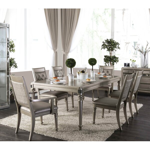 Barney 7 Piece Extendable Dining Set by House of Hampton