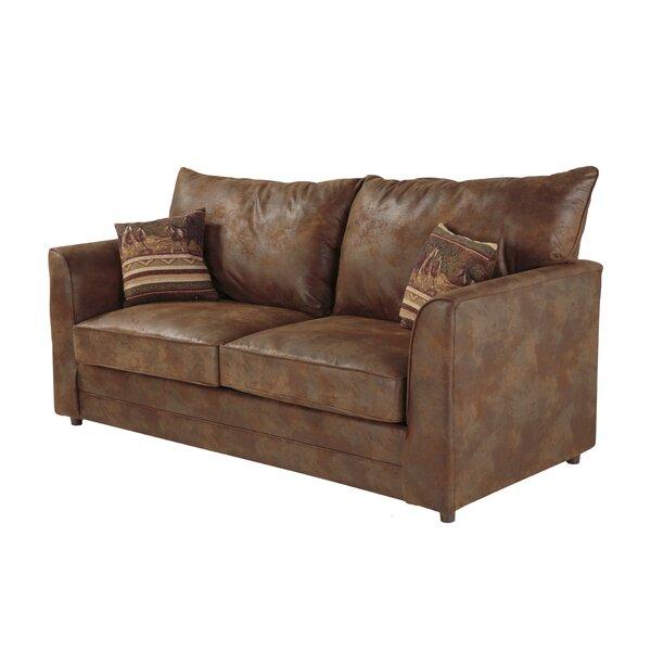 Modern Style Aticus Sleeper Sofa by Loon Peak by Loon Peak