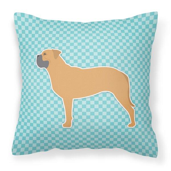 Bullmastiff Indoor/Outdoor Throw Pillow by East Urban Home