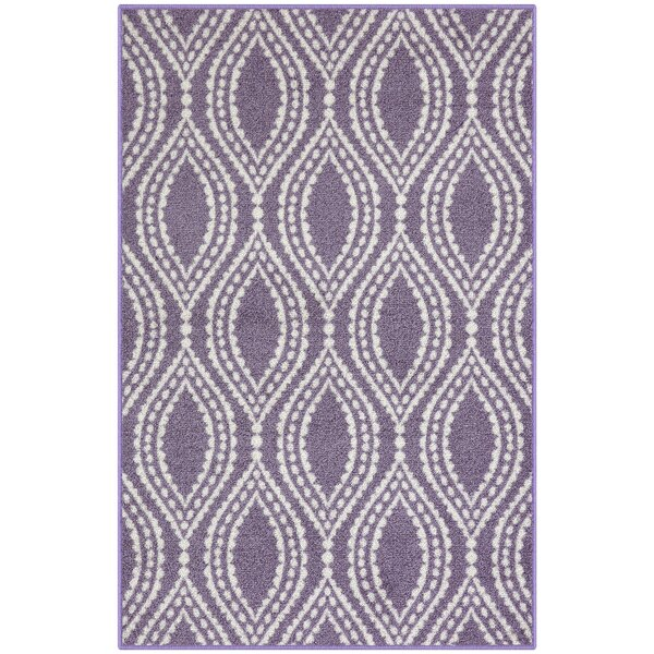 Bothwell Lavender Area Rug by Winston Porter