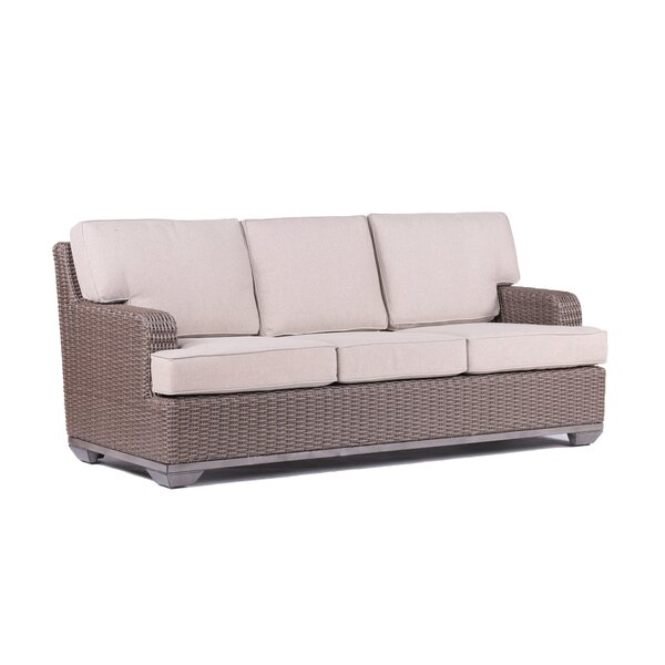 Vicki 3 Seater Sofa with Cushions by Latitude Run