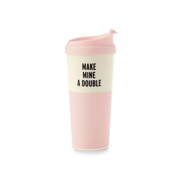 Thermal Mug, Make Mine A Double by kate spade new york
