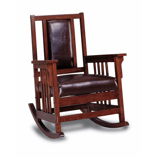 Vicini Rocking Chair by Millwood Pines
