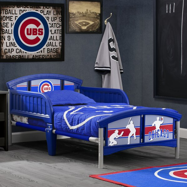 MLB Chicago Cubs Convertible Toddler Bed by Delta Children