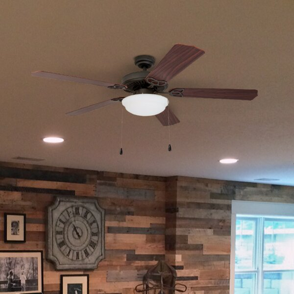 52 Crownover 5 Blade LED Ceiling Fan by Charlton Home