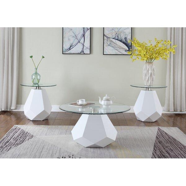 Gerri 3 Piece Coffee Table Set by Everly Quinn Everly Quinn