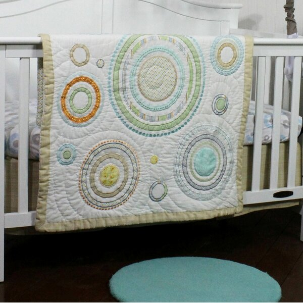 Cosmo Dots All Cotton Baby Quilt by Nurture Imagination