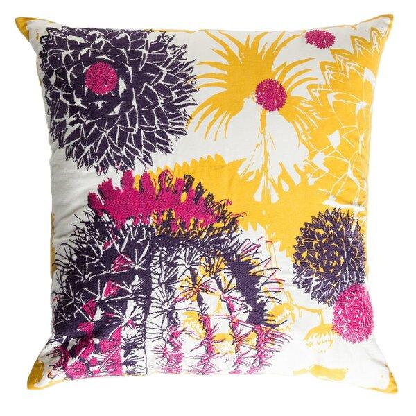 Cactus Cotton Throw Pillow by Koko Company
