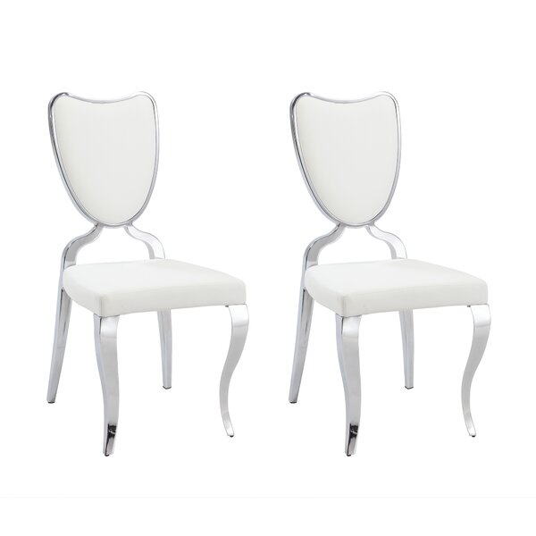 Lacey Upholstered Dining Chair (Set of 2) by Chintaly Imports
