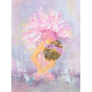 'Little Dancer 2' by Susan Pepe Stretched Canvas Art by Oopsy Daisy