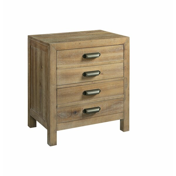 Sthilaire 2 Drawer Nightstand by Foundry Select