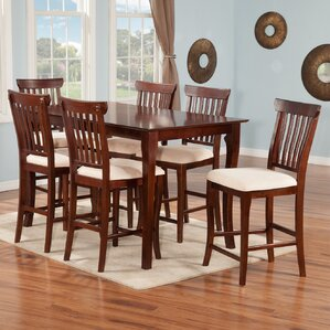 Newry 7 Piece Pub Table Set by Darby Home Co