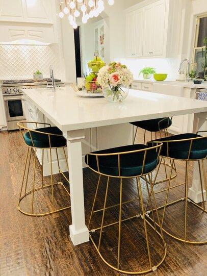 Glam Kitchen Design