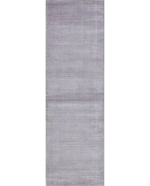 Don Hand-Knotted Purple Area Rug by Latitude Run