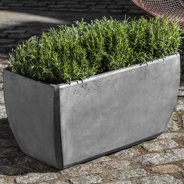 Urban 2-Piece Composite Planter Box Set by Campania International