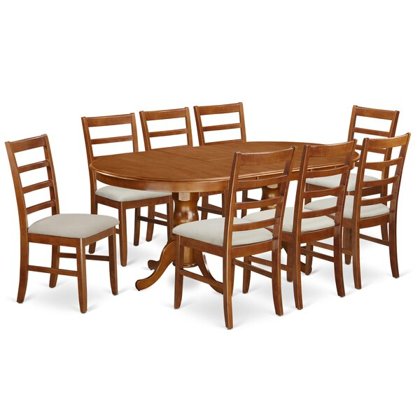 Pillsbury 9 Piece Dining Set by August Grove