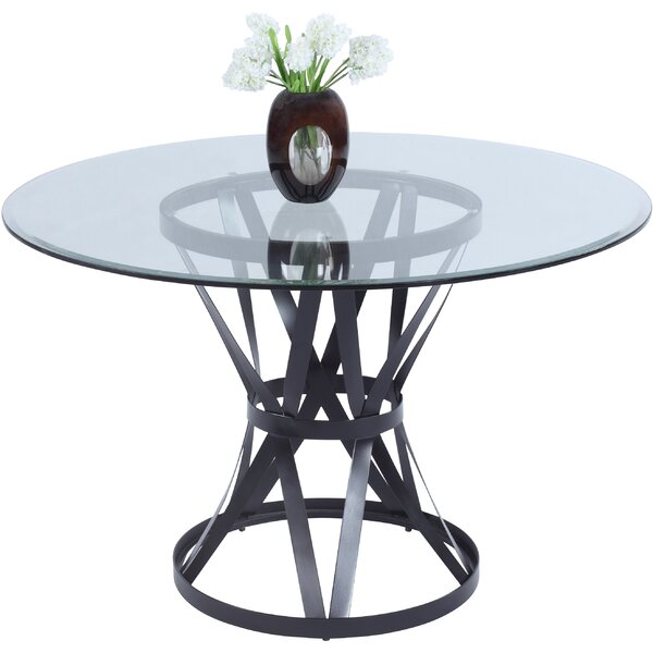 Winnie Metal Base Dining Table by Darby Home Co Darby Home Co