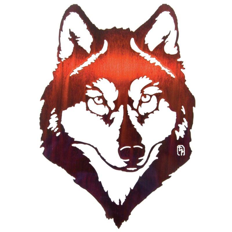 Wolf Wall Decor